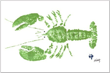 green_lobster_placemat