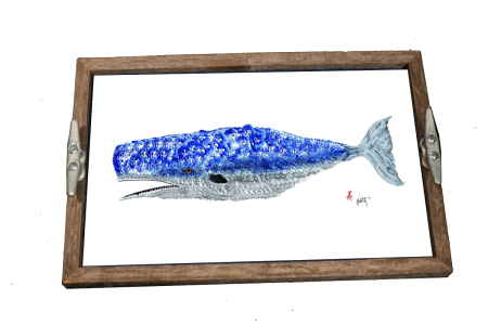 whale - tray